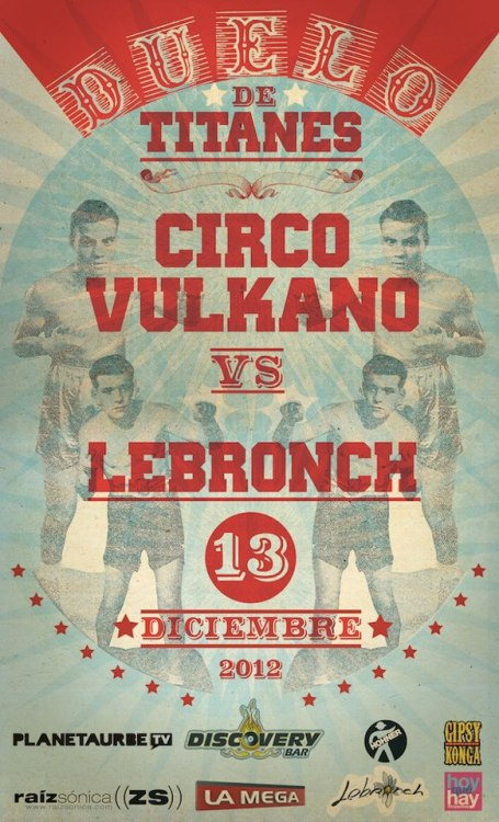 Circo Vulkano vs Lebronch | 13.12.12 | Discovery Bar