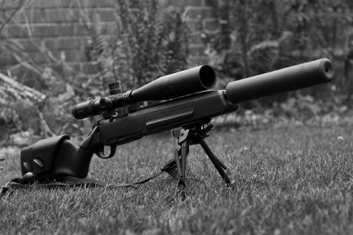 militaryandweapons:  Steyr Tactical Scout by Commando Photography on Flickr.