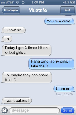 Haha he is to much! :) I'm falling hard for this boy.