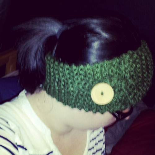 Final product! #craft #handmade #knit #likeaboss #awesome #headband