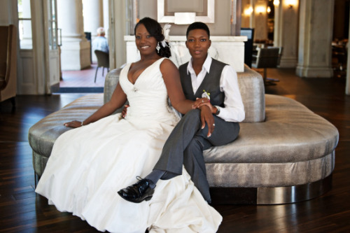 brideandsoul:   tiffini & trina – a chic southern wedding