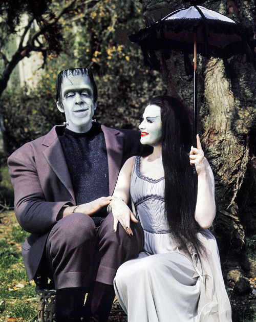 vintagegal:  The Munsters, 1960's