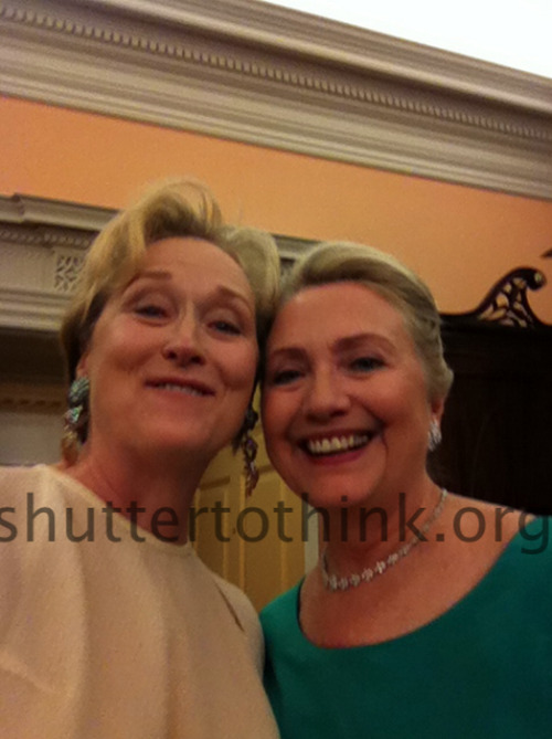 Selfie. Meryl and Hillz.