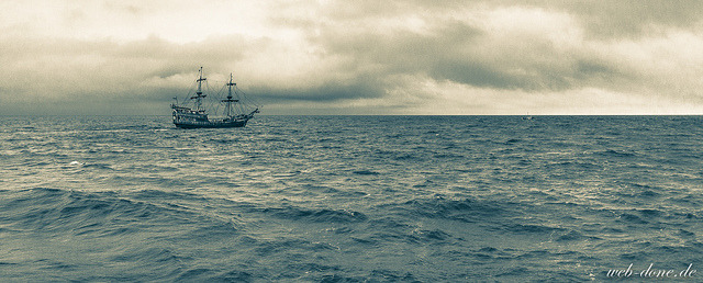 Ship II by Alexander Steinhof on Flickr.