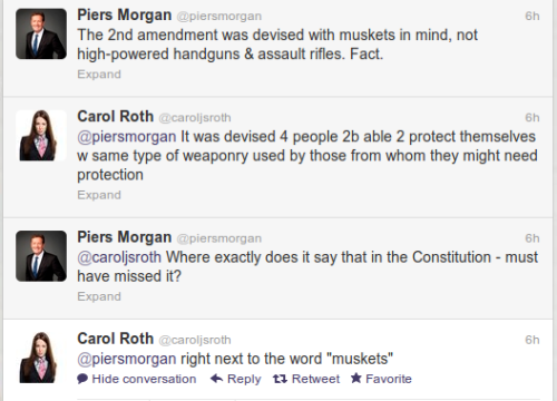 21st-century-classical-liberal:    Piers Morgan is the worst type of idiot.