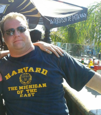 This #michiganman went to EMU #ironic