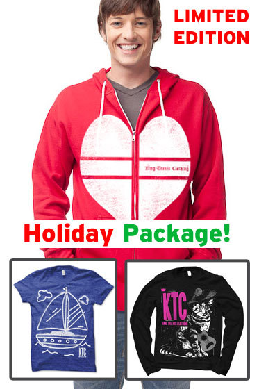 New package w/ hoodie just added to KTC for December 2012!! I hope you like it! Tweet me and let me know!!