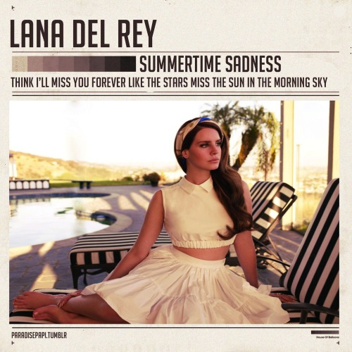 paradisepapi:  Summertime Sadness x The Weeknd Cover.