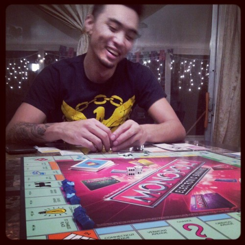 This is what greed looks like! #game #monopoly #boyfriend