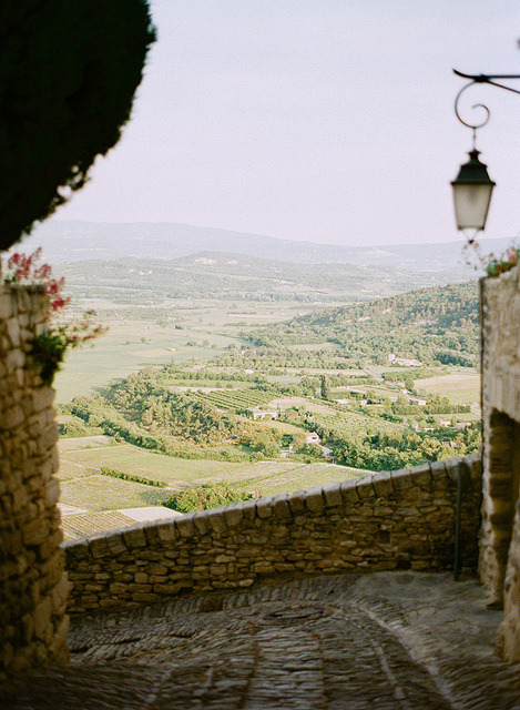 | ♕ |  Gordes - summer in Provence | by © Kallie Brynn | via ysvoice