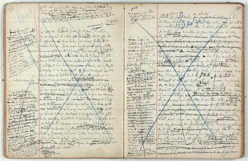 Marcel Proust's Manuscripts  via:workman/man-of-prose