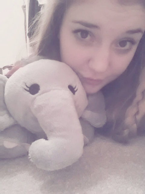 Sooo… I take pictures with stuffed animals… (*/∇\*)