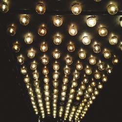 All of the lights.