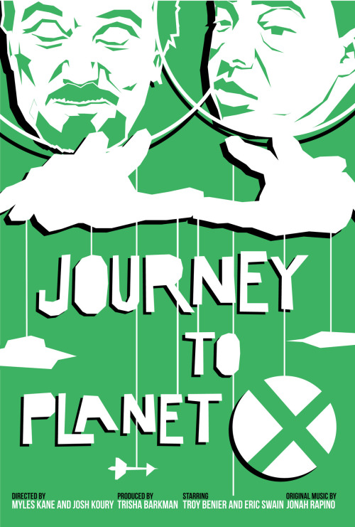 Journey to Planet X by Justin Robert Tierney