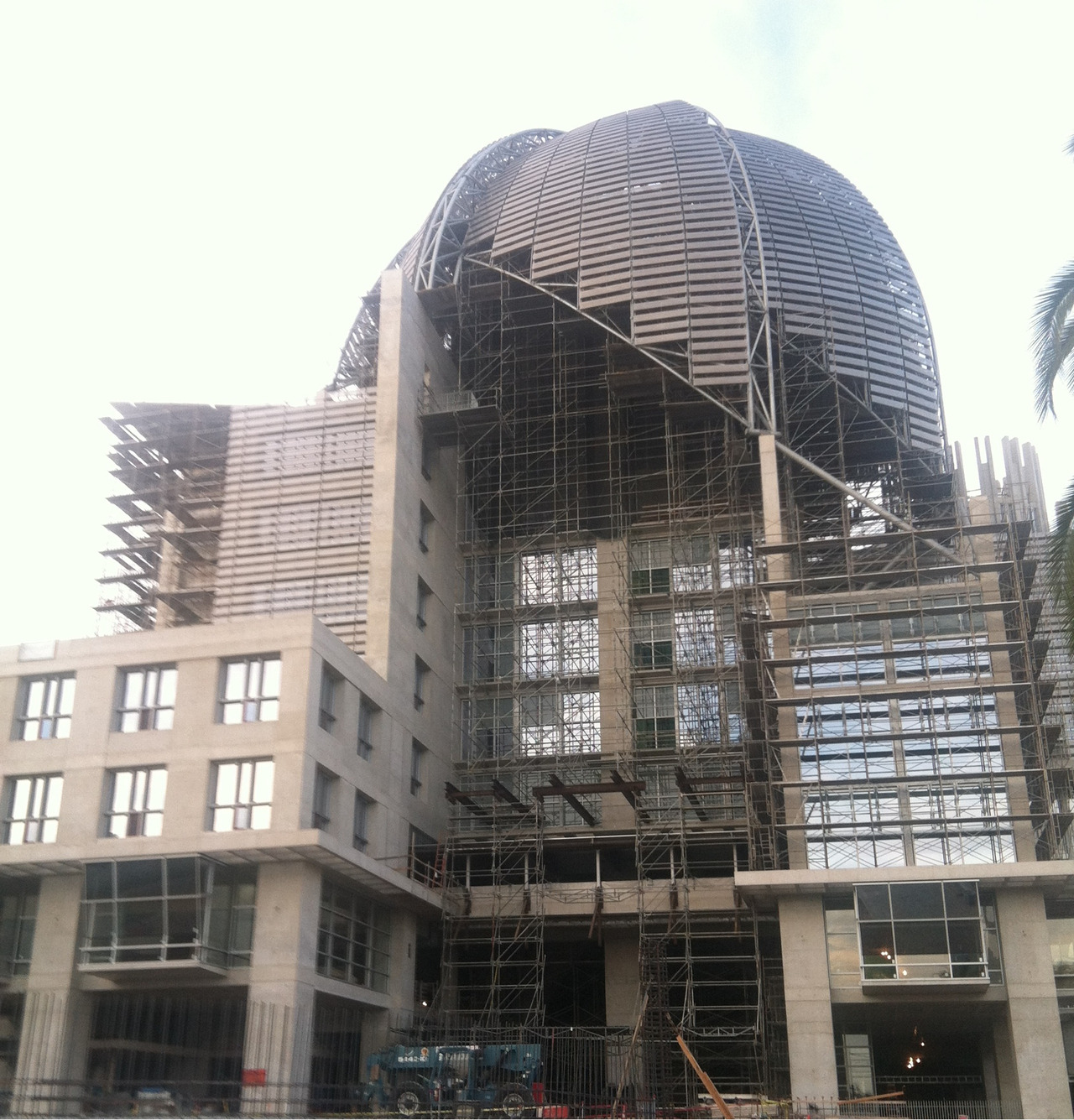Central library. San Diego, CA. In progress