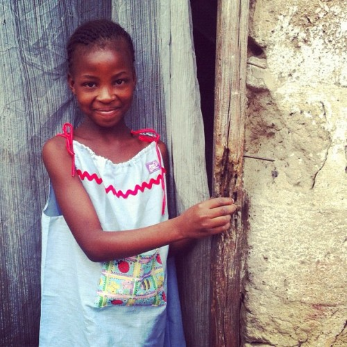 Yolanda is 10 and in the 4th grade. She wants to be a teacher. She will. Thank you 365 Campaigners. @poetice @livepoetice