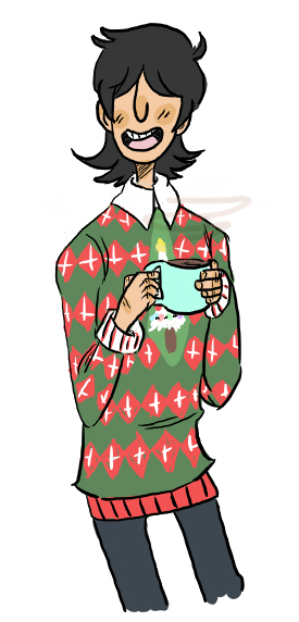 snufkin-snufkout:    the first sweater screams Taisei..   my love affair with christmas sweaters continues
