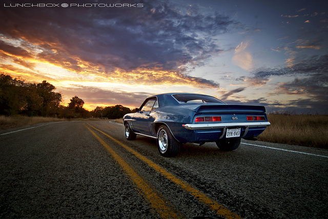 musclecarblog:  '69CamaroSSRear by Lunchbox PhotoWorks on Flickr.