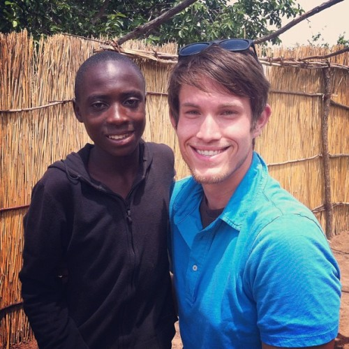Tyler Pieper gave his Bible to Kanyanga, 13. He wants to be a pastor. Thank you 365 Campaigners. @poetice @livepoetice @ransomchurch