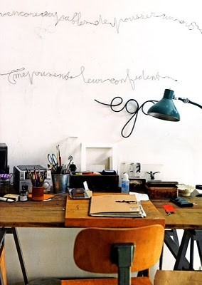 We love this workspace… www.facebook.com/junkfunkshop