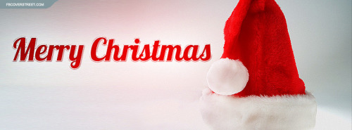 Santa Hat Facebook Covers