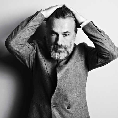 Celebs // Christoph Waltz  [by Markus Jans for Vogue.]