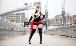 comicbookcosplay:  Ms Marvel Photo by - Justice Pictures Uk Submitted by Ms Luna