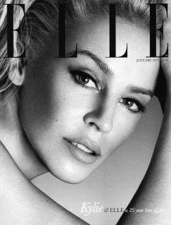 Magazine (ELLE UK JANUARY 2013, Kylie Minogue by Cuneyt Akeroglu, via thecysight)