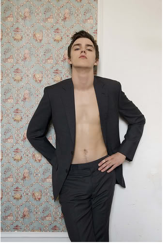 Shirtless Nicholas Hoult