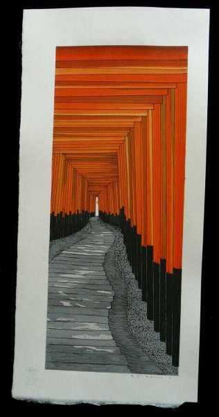 workman:  wasbella102: The 1000 Torii at Kyotos Fushima Inari Shrine: Teruhide Kato