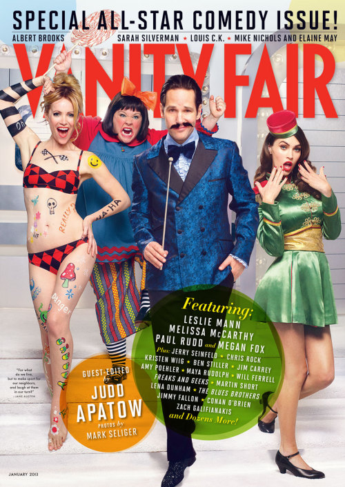 Vanity Fair, January 2012, cover 1 of 3