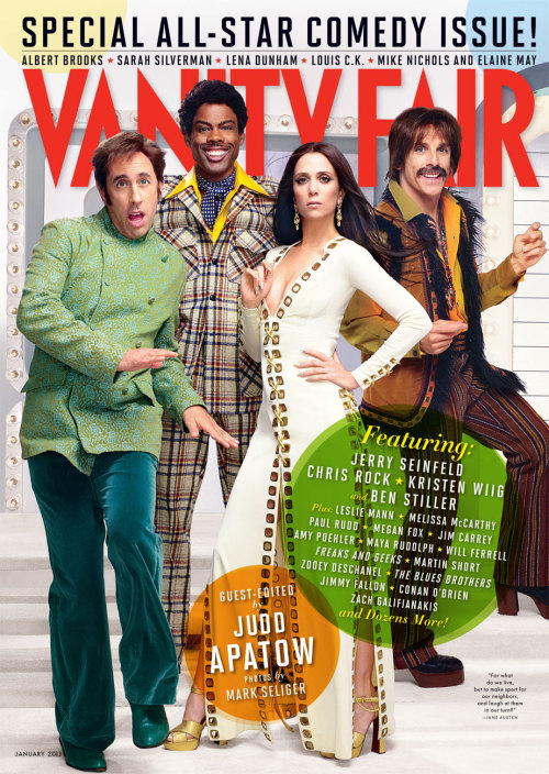 Vanity Fair, January 2012, cover 2 of 3