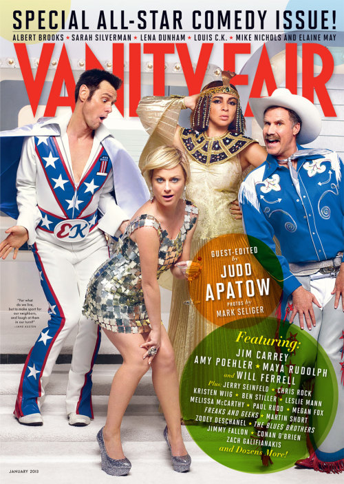 Vanity Fair, January 2013, cover 3 of 3