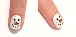 My tutorial for DIYing snowman nails on Beaut.ie :)
