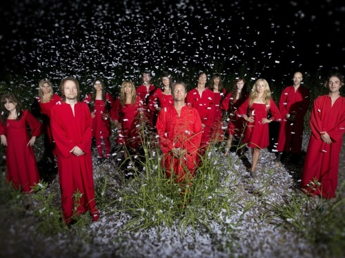 "The Polyphonic Spree is on a holiday music tour to perform seasonal songs, including a beautiful version of John Lennon's ""Happy Xmas (War Is Over)."" In a video, the song is set to animated watercolor paintings by artist Gala Bent. Watch it now. Photo: Steve Wrubel"