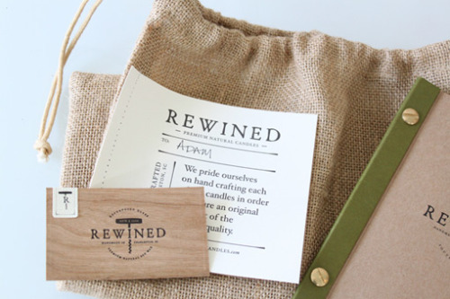 Rewined Candles by Stitch Design Co.