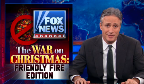 Full Episode: Fox News continues fighting the war on Christmas, Congress debates the filibuster, and Denis Leary.  http://on.cc.com/VwOXLc