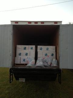 Over 107,000 meals are on their way to #OpenDoorHaitithis morning with a few bags of clothes donated by our staff. Thank you, The Crossing Church and #NCCAAfor your hard work in packaging these meals!