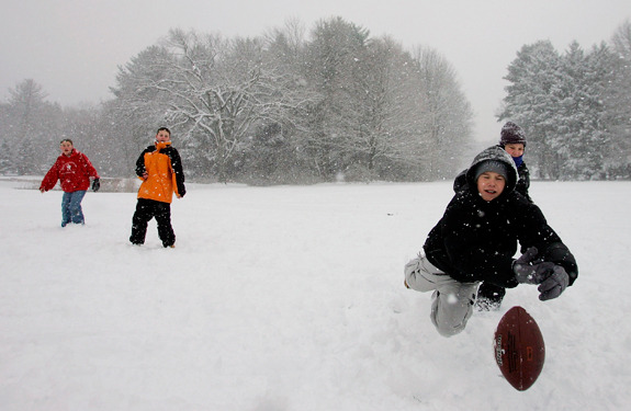 5 Rules Of Snow Football Etiquette