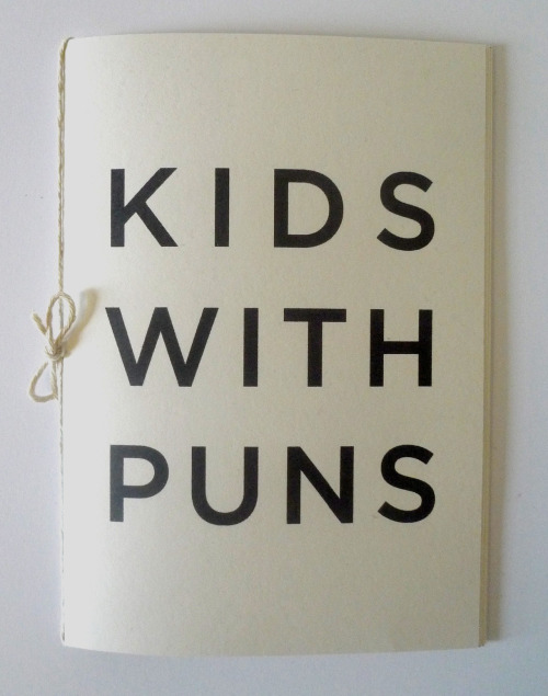 designersof:  Made a Zine about Puns.
