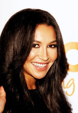 Naya Rivera with her big smile at Trevor Project (02-12)