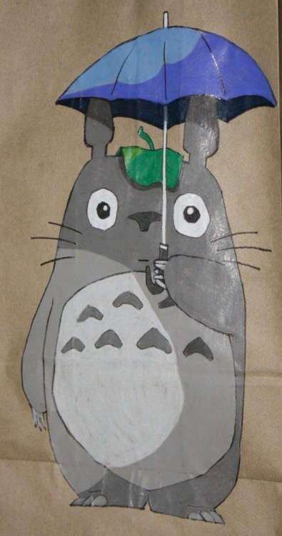 lunchsackpoetry:  Totoro! Lovingly, Lunch Sack Poetry