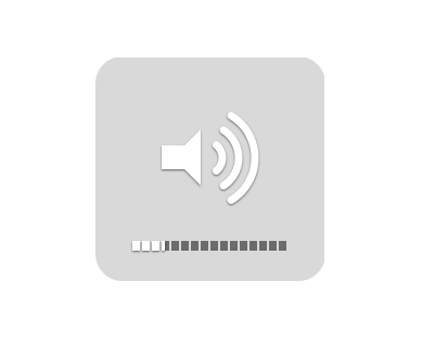 michellej:   littlebigdetails:  OS X - Adjust the volume in 1/4 increments with shift+alt+volume keys. /via GDmac  Life changing   I also just learned, by accident, that shift+volume keys changes the volume without the bloop-bloop sound effect.