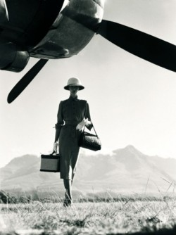 victoiretran:  The Art of Travel Norman Parkinson Vogue 1951