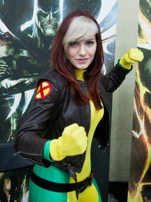 Camille Adrienne Cosplay as Rogue