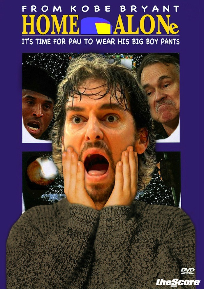 Home Alone: Lost In L.A. feat. Pau, Kobe & Mike.