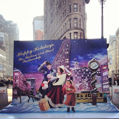 Happy Holidays! #flatiron #nyc