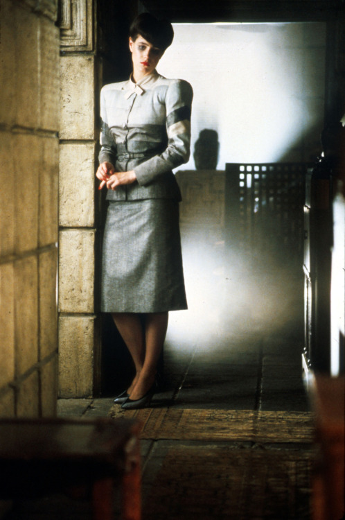 The Fashion of Blade Runner. Rachel (Sean Young).