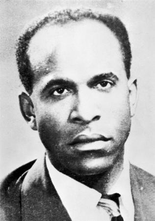 On this day, 50 years ago, Frantz Fanon passed away. A psychiatrist, Pan-Africanist, writer, and revolutionary, he was born in Martinique in 1925. In 1952 he published Black Skin, White Masks, which exposed the negative effects of colonization on the mental state of subjugated peoples, and in 1961 wrote his best-known piece The Wretched of the Earth, about  As a psychiatrist in Algeria, he joined the FLN (National Liberation Front), which waged a war of independence against France. In 1961, Fanon published The Wretched of the Earth, a book on decolonization that has remained a classic and influenced revolutionaries the world over, including Malcolm X, the Black Panthers, Che Guevara, and the South African Steve Biko, founder of the Black Consciousness movement. Fanon died in Maryland, where he had sought treatment for leukemia, and was buried in Algeria.