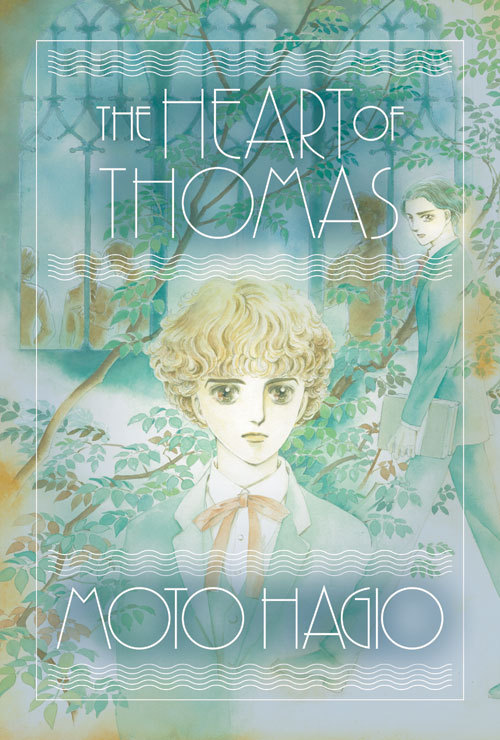 samehat:  cover to the English edition of The Heart of Thomas by Moto Hagio, via Fantagraphics/Matt Thorn  Esto me recuerda que es una asignatura pendiente de mi apreciada Moto Hagio XD